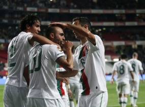 FOTO PORTUGAL VS SPANYOL 4-0 -