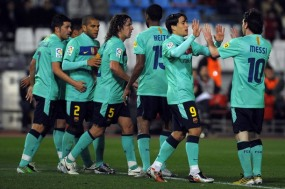 FOTO MESSI BARCELONA VS ALMERIA 8-0 ALL GOALS -