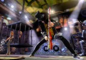 Vokalis Guns N' Roses Tuntut Pembuat Guitar Hero   Slash285