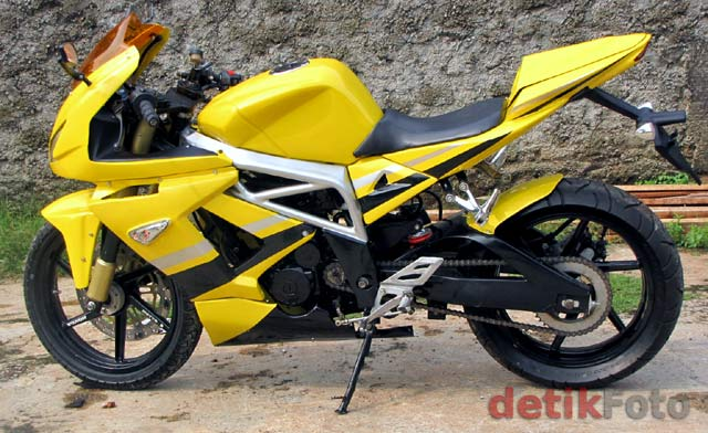 HONDA TIGER TO BE MV AGUSTA LIKE