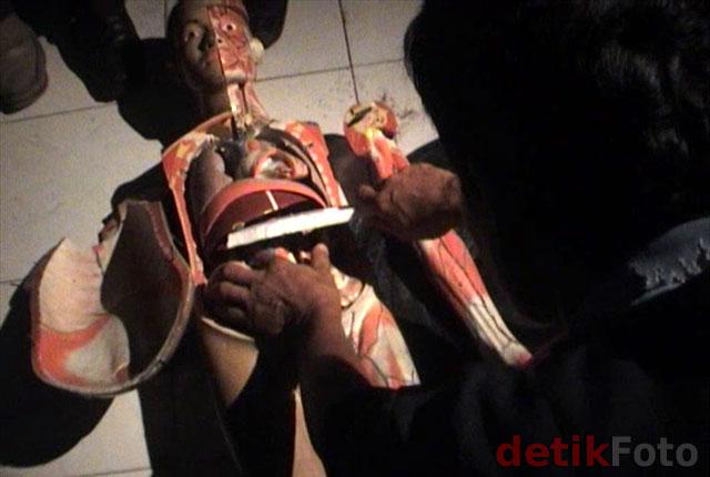 Rekonstruksi Mutilasi di Magelang