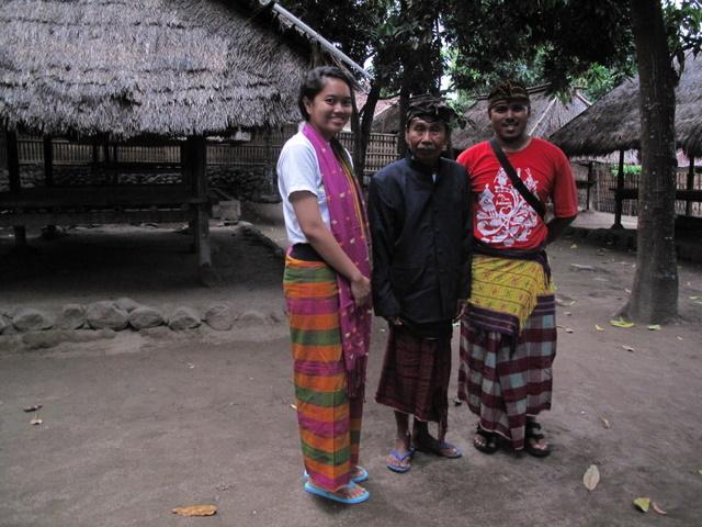 Bersama Mamiq, pemangku adat Suku Bayan