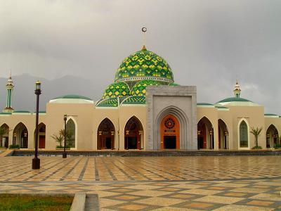 kemegahan Masjid Agung Natuna