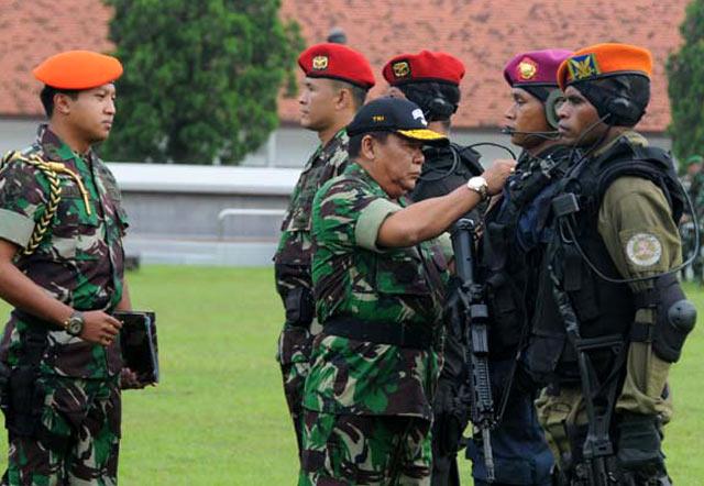 Kasum TNI Buka Latihan GULTOR