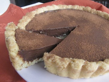 Resep Kue: Pie Chocolate Ganache