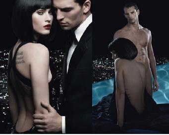 foto Megan Fox Bugil Telanjang di iklan parfum Armani 7wolu.blogspot.com