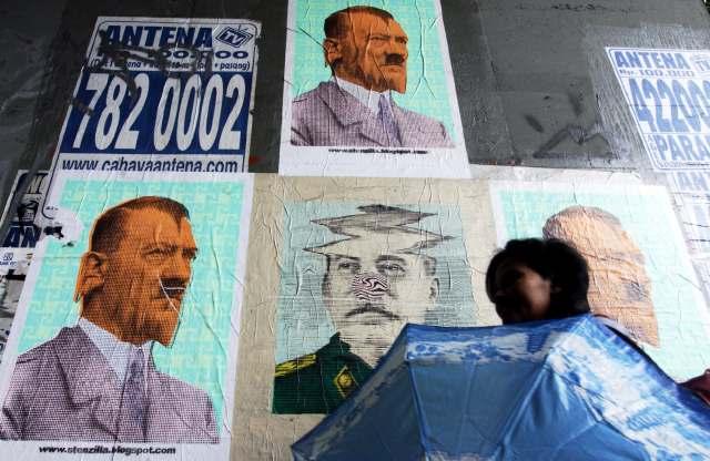 Gambar Stalin Tersenyum Angkuh di Jakarta