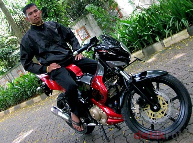 Suzuki Satria ala Personel TNI