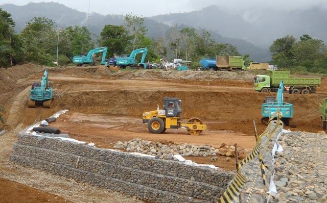 Konstruksi Pabrik Pengolahan Emas