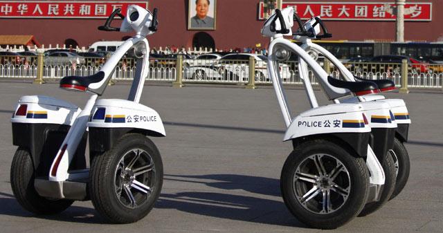 Motor Polisi China