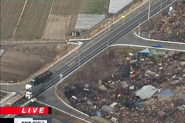 Tsunami Terjang Jepang