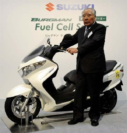 Suzuki Berbahan Bakar Hidrogen