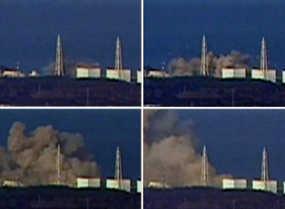 Ledakan Terjadi Lagi di PLTN Fukushima, Asap Membumbung