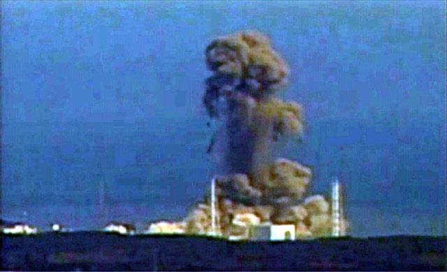 Reaktor Nuklir Fukushima Kembali Meledak