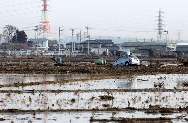 Mobil Korban Tsunami Jepang