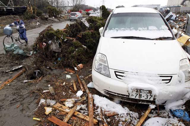 Salju Guyur Sendai