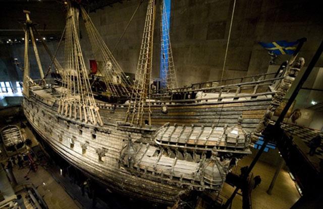 Renovasi Kapal Perang Tua