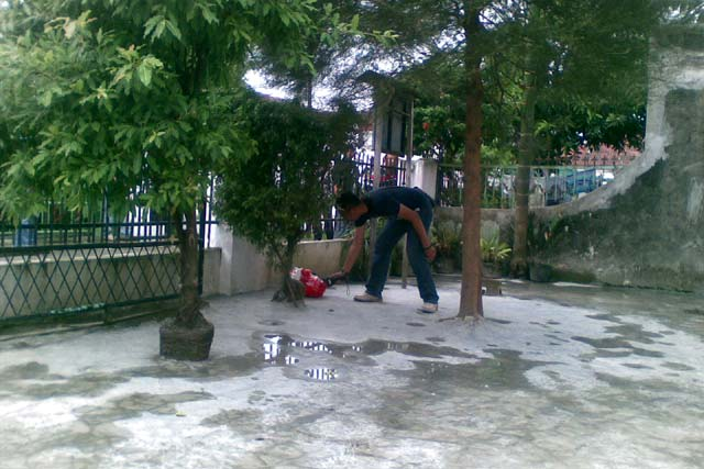 Teror Bom Hebohkan Medan