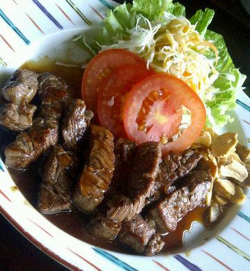 Resep Daging: Spicy Beef Yakiniku