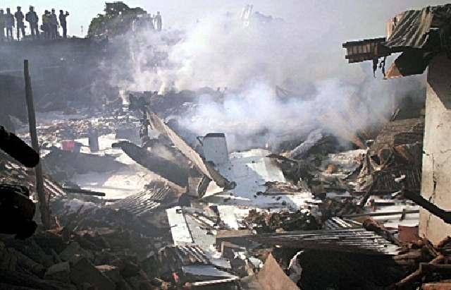 Pesawat Kargo Jatuh di Kongo, 19 Tewas