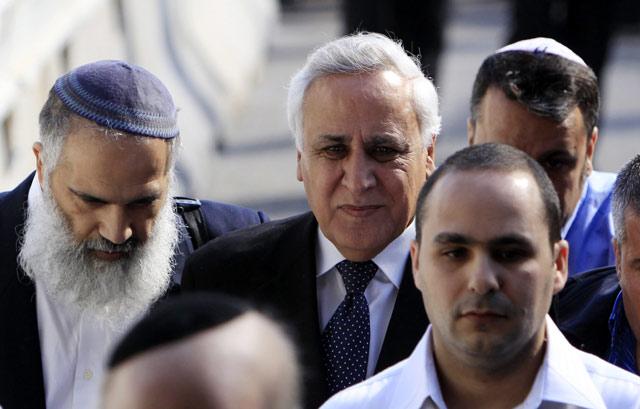Mantan Presiden Israel Divonis 7 Tahun