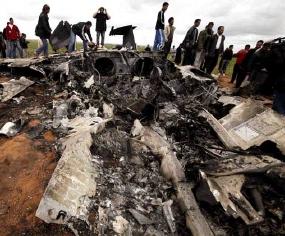 Heli AS Tembaki Penonton Pesawat F-15 yang Jatuh di Libya