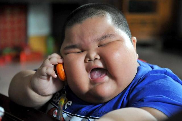 Lu Hao, Bocah 3 Tahun Beratnya 60 Kg