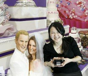 Wow! Kue Pengantin Pangeran William & Kate Dibuat Koki Indonesia