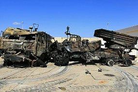 Militer AS: Angkatan Udara Libya Hancur