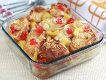 Resep Puding: Banana Bread Pudding