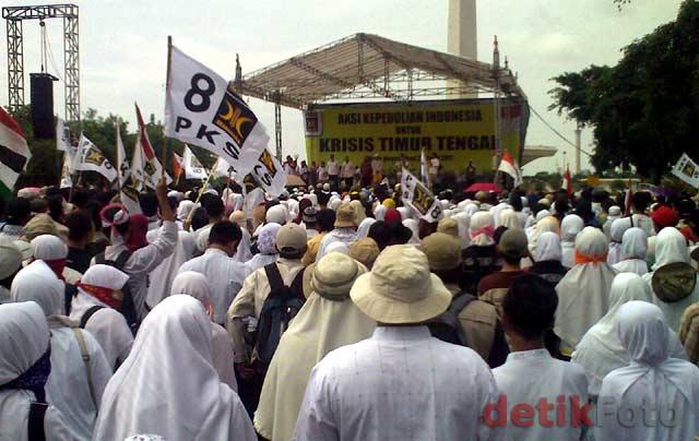 PKS Gelar Aksi Peduli Timur Tengah