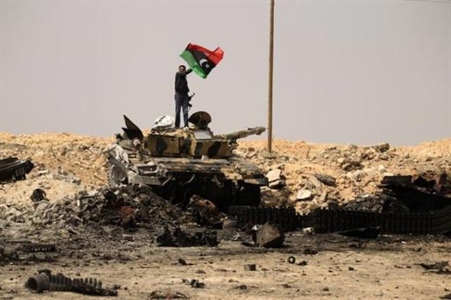 Pemberontak Libya Kuasai Ajdabiya