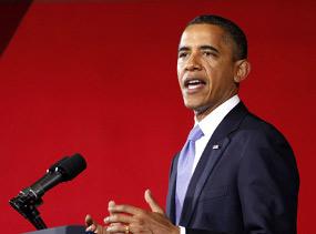 Obama Tegaskan Serangan Sekutu ke Libya Sebagai Misi Kemanusiaan