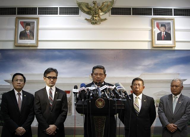 SBY Bacakan Sikap Soal Krisis Libya