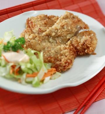 Resep Ayam: Japanese Fried Chicken Steak