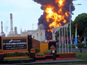 Kebakaran di Pertamina Cilacap Padam, Penduduk Pulang ke Rumah