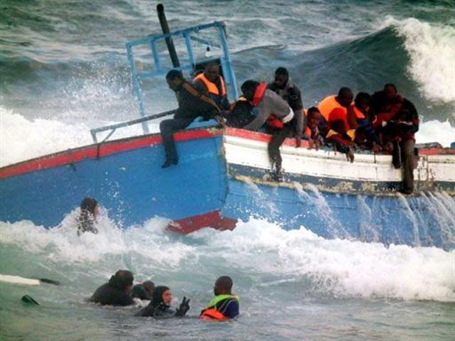 Kapal Tabrak Karang, 2 Imigran Tewas