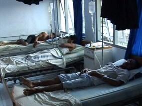 Foto Korban Bentrokan di Jetro Jenar, Bulu Pesantren