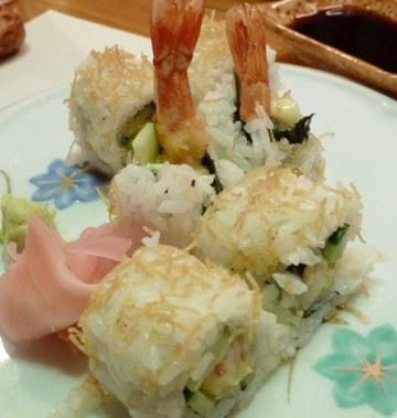 Resep Sushi: Ebi Tempura Roll