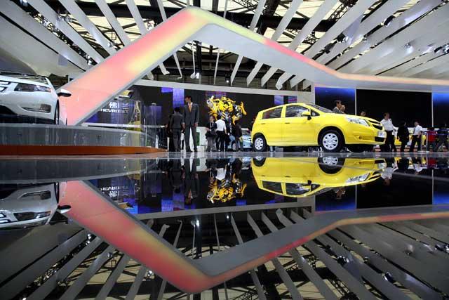 Semarak Shanghai Motor Show