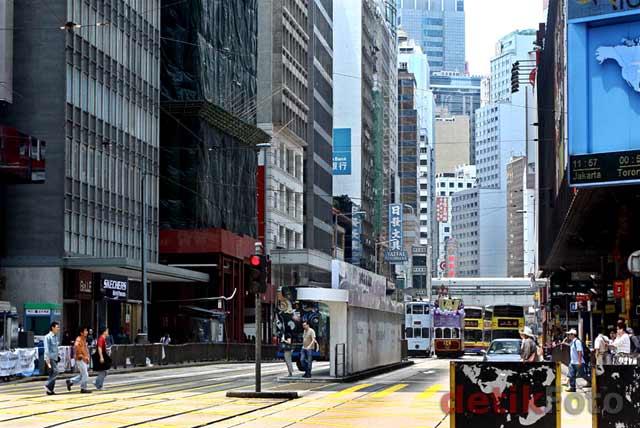 Melihat Hongkong Sepi saat Long Weekend