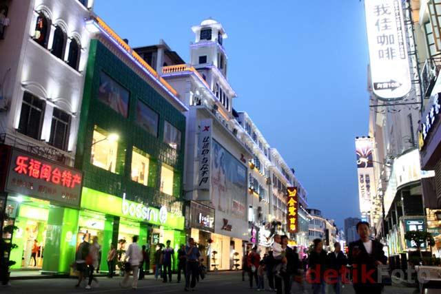 Menikmati Senja di Xiamen