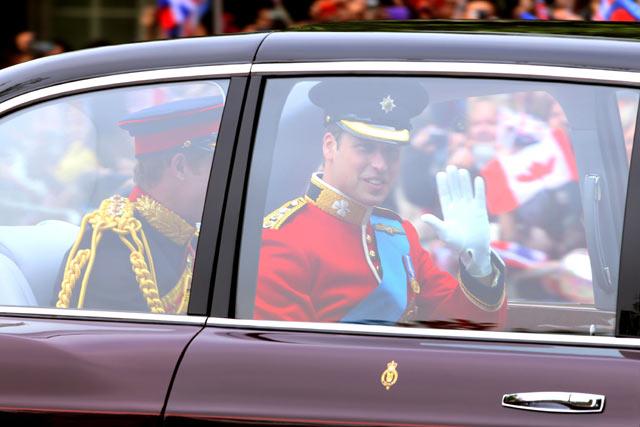 Mobil Pengantin Kerajaan Inggris