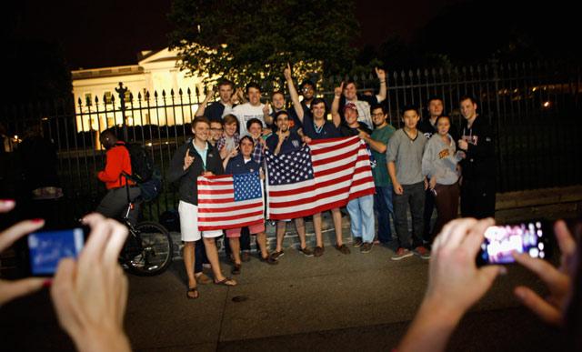 Rakyat AS Rayakan Kematian Osama