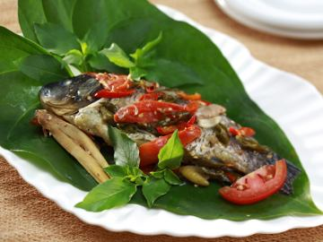 Resep Ikan: Pepes Ikan Sunda