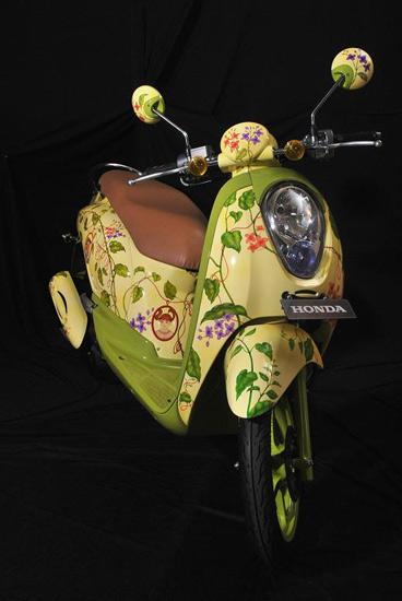Honda Scoopy Obyek Seni
