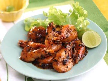 Resep Seafood: Udang Bumbu Lada