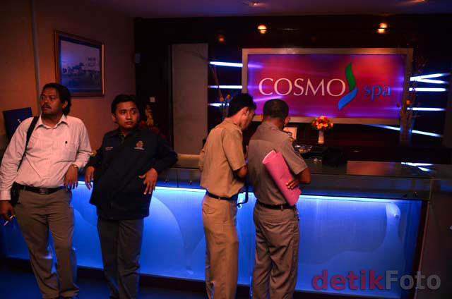 Panti Pijat dan Spa di Surabaya Dirazia