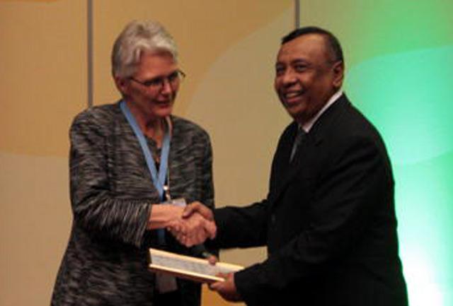 Presiden SBY Terima Penghargaan PBB