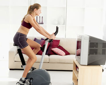 Working Out During Your Favorite TV Show